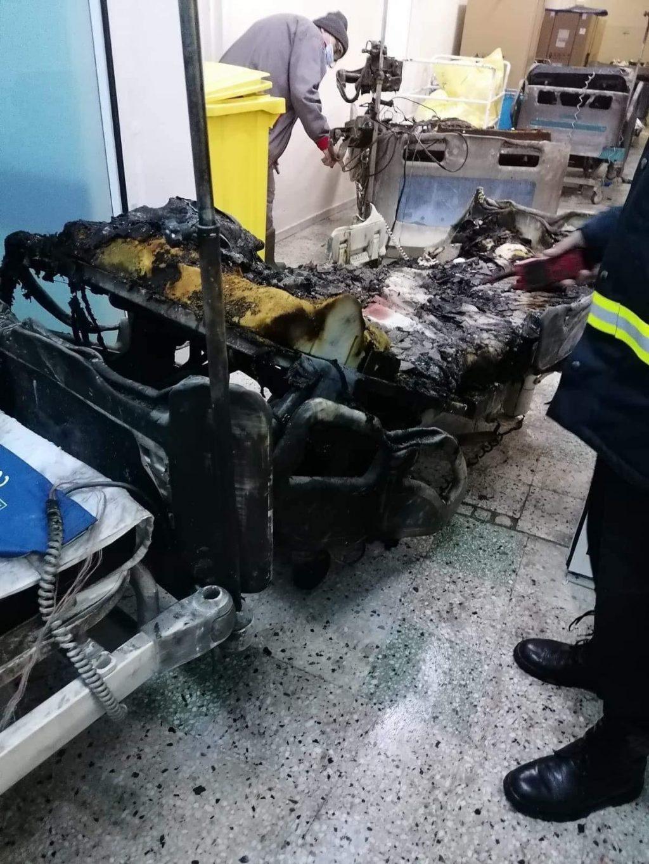 Cum arată secția ATI de la Spitalul Județean Piatra Neamț unde un incendiu a ucis 10 pacienți bolnavi de Covid-19