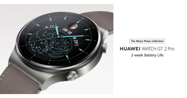 Huawei Watch GT 2 Pro este un model elegant discret si performant
