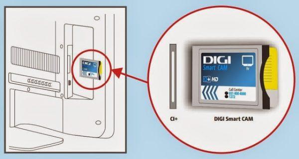 Manual de utilizare CAM CI + de la RCS-RDS ( DIGI Smart CAM ) și mesaje de eroare